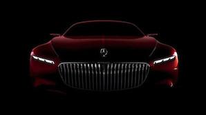 Mercedes afsl�rer seks meter lang Maybach
