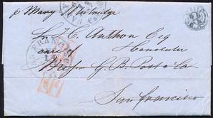 """""""Videresendt til Honolulu"""" - Ufrankeret brev gemte p� k�mpegevinst"""