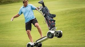 Golfbanens skr�k? S� vild er fremtidens golfvogn