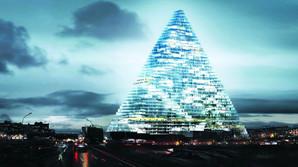 Bliver dette den f�rste skyskraber i Paris i 40 �r?