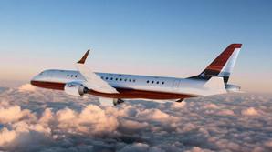 Privatfly lastet med mahogni og messing