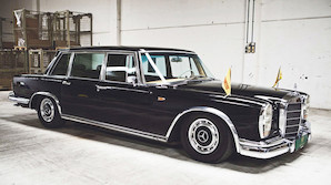 G�r et kup i Aarhus: Simon Spies limousine under hammeren