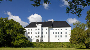 Dansk middelalderslot opn�r topplacering