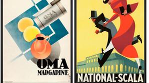 Gamle reklamer s�lger som varmt br�d