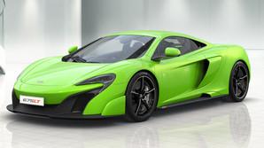 McLarens langhalede superbil bliver revet v�k