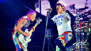 Mistroen blev gjort til skamme - Revanche for Red Hot Chili Peppers