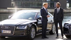 Breinholt og Grau: Vild med milit�r- og ministerbiler