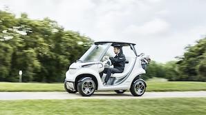 """""""Det er lidt af et eventyr"""" - Mercedes bl�stempler dansk golf-bil"""