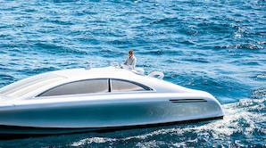 Mercedes S-klasse st�r til s�s som luksusyacht
