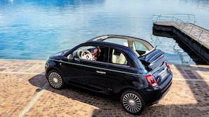Fr�k Fiat med maritime detaljer