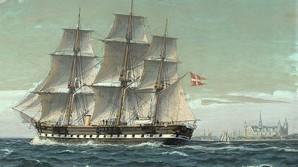 Budkrig med Kronborg om styrbord