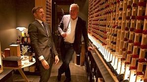 Med Lars Seier i Michelin-bunker til 6 mio kr