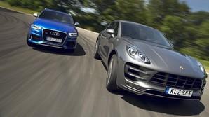 Audi og Porsche i sporty topduel