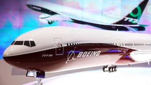 Boeing vil sl� Airbus� k�mpejumbo af banen med en st�rre 777�er