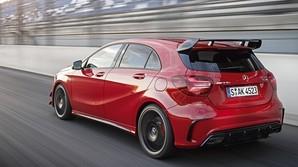 Mercedes klar med h�rdt pumpet hatchback