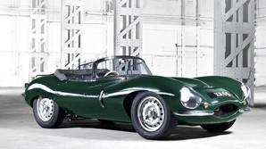 Genskaber ber�mt Jaguar fra 1957