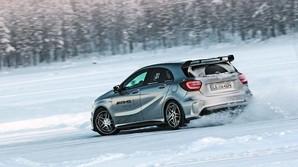 Mercedes AMG p� glatis