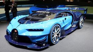 Bugattis bl� monster