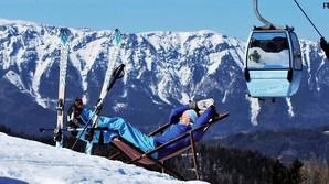 Elitens forladte alpine legeplads