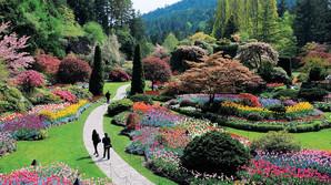 Ind i verdens m�ske smukkeste have