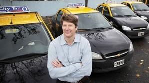 Fra b�rsm�gler til taxi-magnat