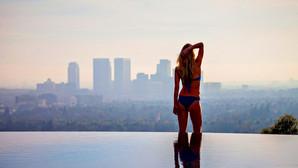 Trof�-bolig med LA's bedste udsigt er til salg