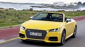 Audi med bl�dt tag i h�rd konkurrence