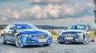 Firmabilernes duel: Jaguar vs. Mercedes