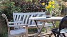 Moderigtigt for�r p� terrassen