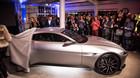 Afsl�rer Aston Martins Bond-bil p� dansk jord