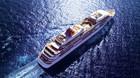 42.830 ton cruiser lastet med velhavere
