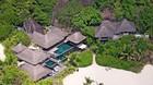 Pr�sidentvilla med egen palmestrand