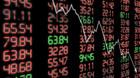 Danske aktier n�rmer sig minus p� 5 pct - USA-aktier st�r til nyt sm�k