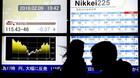 Aktier: Store kursfald pr�ger igen Tokyo-b�rsen
