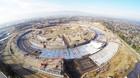 Nye drone-billeder af Apples mega-bygning