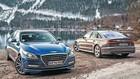Koreansk limousine giver Audi kamp til stregen