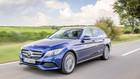 Uh�rt fork�let godstransport med den ny Mercedes