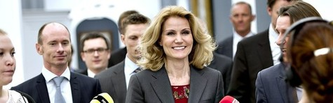 Helle Thorning kres af Newsweek