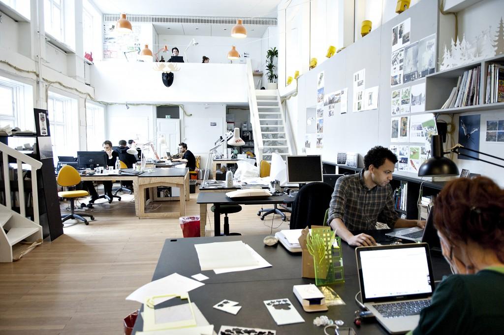 Coworking Fremtidens Kontor Og Arbejdsform
