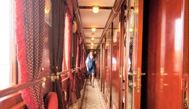transsibiriske jernbane luksus