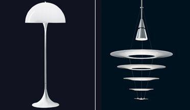 lamper panton solceller og lysdioder. Black Bedroom Furniture Sets. Home Design Ideas