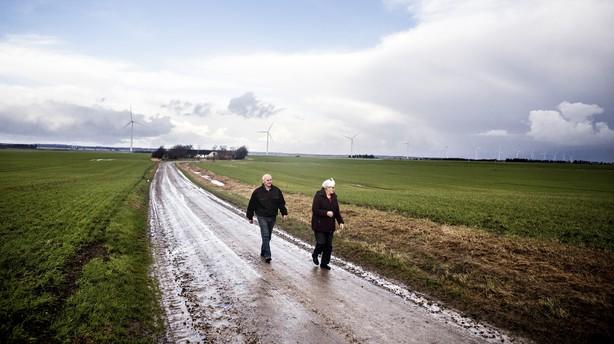 Energimastodont rydder landsbyer for at opf�re vindm�lller