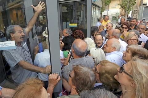 Kreditorkrav om store gr�ske reformer