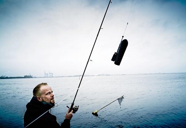 Opfandt et fiskekamera � og solgte straks 20.000