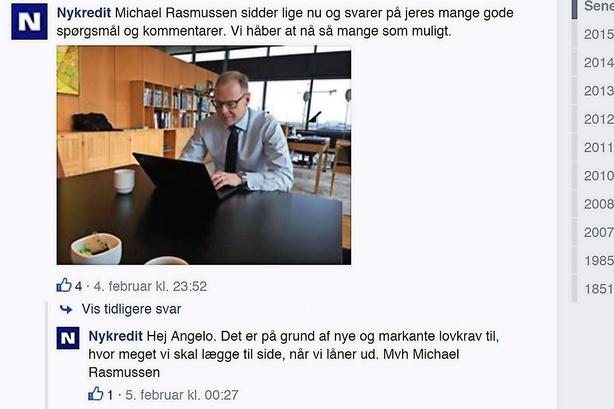 Niels Lunde: L�r af Nykredits dialog med kunderne