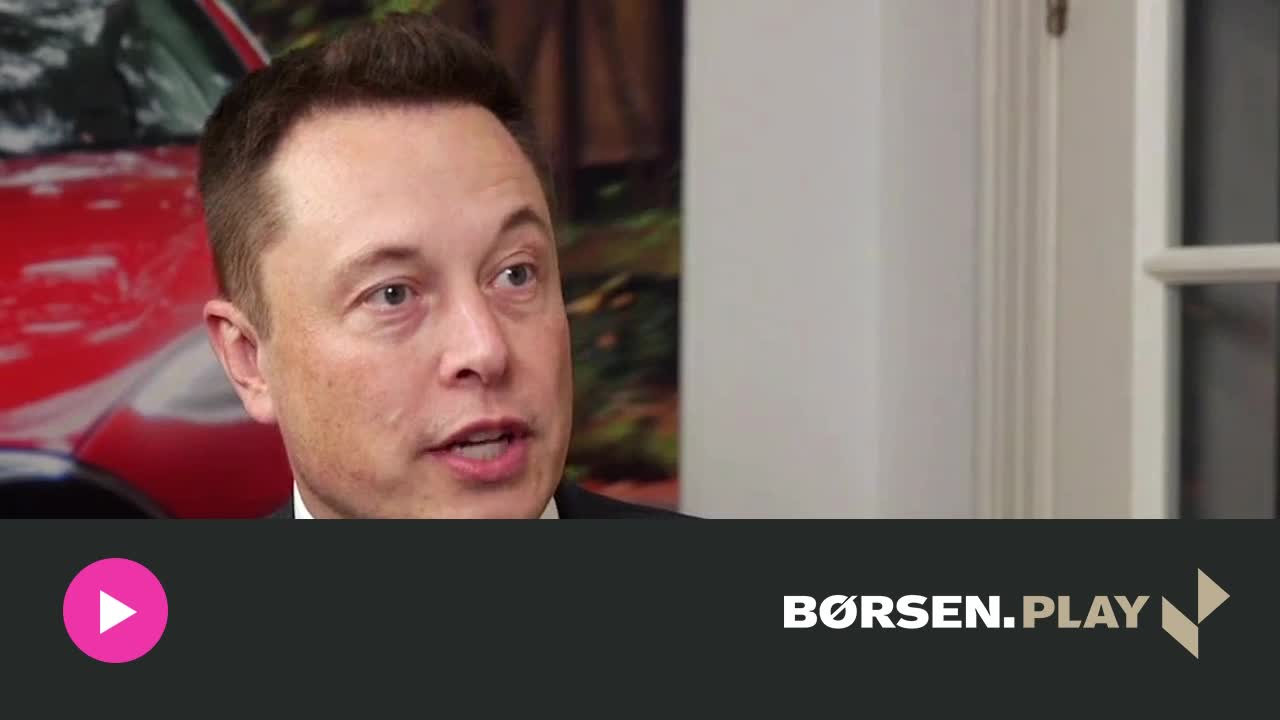 Tesla-chef overvejer ny facilitet i Danmark