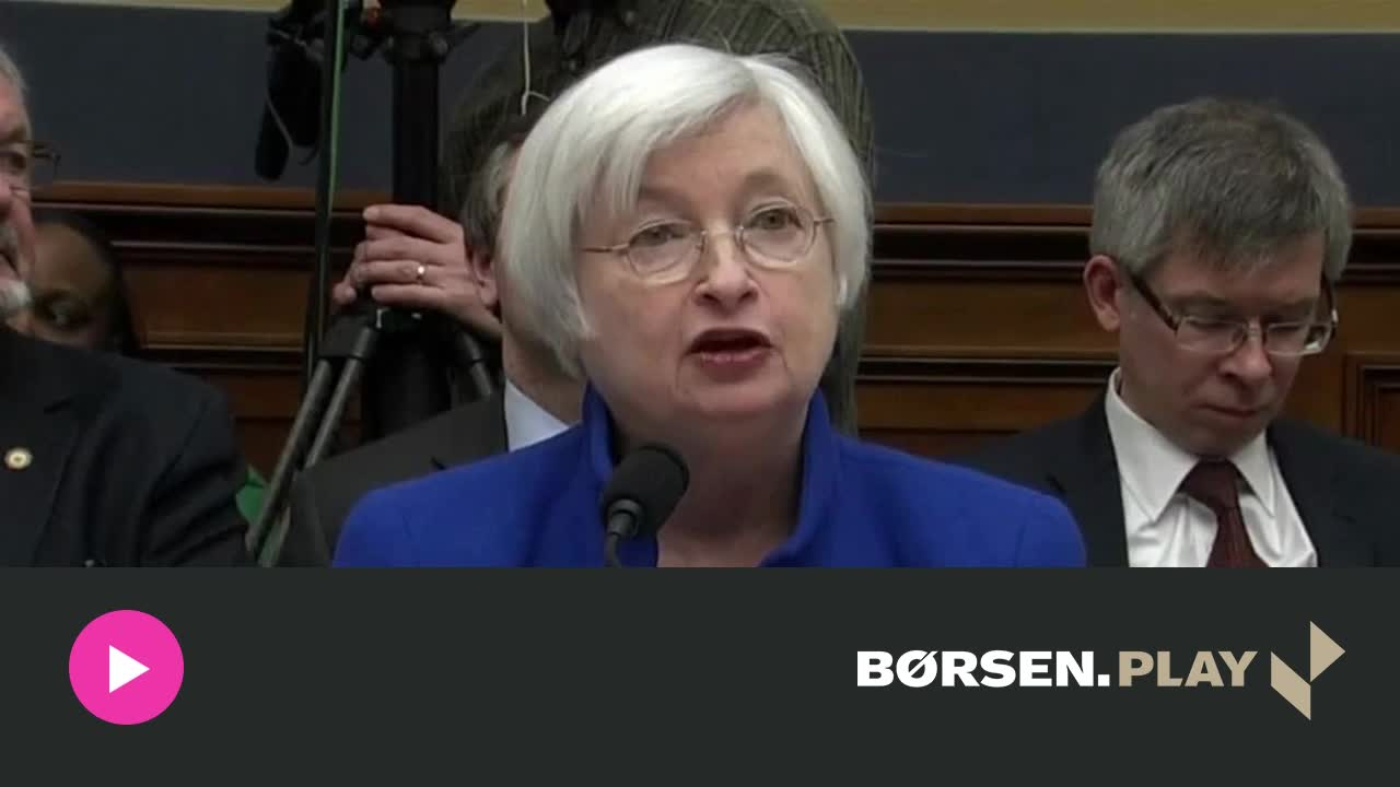 Cheføkonom om aktienedtur: Yellen kan have sat gang i en lavine
