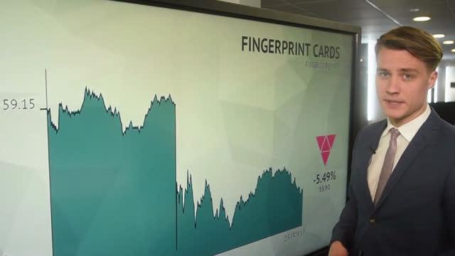 Fingerprint Cards falder over 5 pct. efter anholdelser
