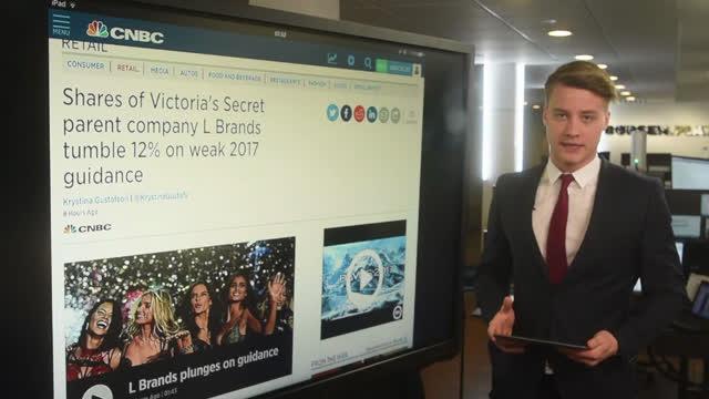 Verden rundt: Victorias Secret-aktie ligger til stort fald