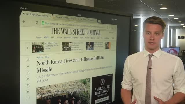 Verden rundt: Nordkoreansk missil skaber bekymring
